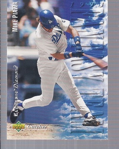 1994 Upper Deck Electric Diamond #33 Mike Piazza FT front image