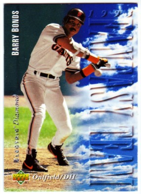 1994 Upper Deck Electric Diamond #38 Barry Bonds FT