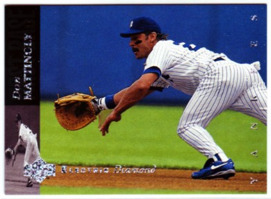 1994 Upper Deck Electric Diamond #90 Don Mattingly