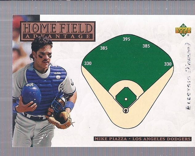 1994 Upper Deck Electric Diamond #273 Mike Piazza HFA