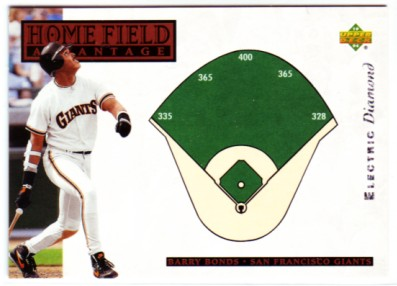1994 Upper Deck Electric Diamond #280 Barry Bonds HFA