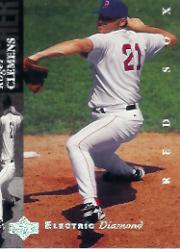 1994 Upper Deck Electric Diamond #450 Roger Clemens