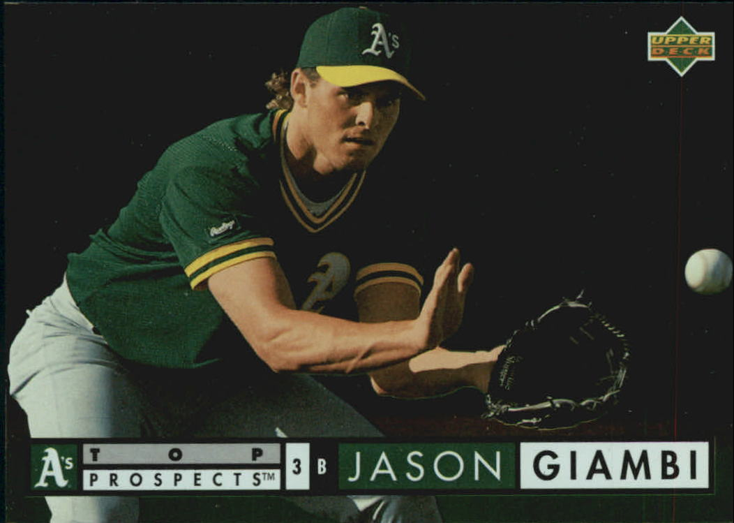 1994 Upper Deck Electric Diamond #525 Jason Giambi