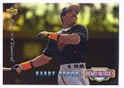 1994 Upper Deck Mantle's Long Shots Electric Diamond #MM3 Barry Bonds