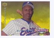1994 Upper Deck Mantle's Long Shots Electric Diamond #MM8 Cliff Floyd