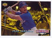 1994 Upper Deck Mantle's Long Shots Electric Diamond #MM9 Juan Gonzalez