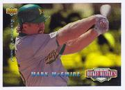 1994 Upper Deck Mantle's Long Shots Electric Diamond #MM13 Mark McGwire