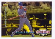 1994 Upper Deck Mantle's Long Shots Electric Diamond #MM14 Dean Palmer