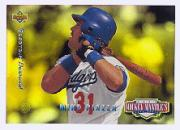 1994 Upper Deck Mantle's Long Shots Electric Diamond #MM15 Mike Piazza