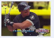1994 Upper Deck Mantle's Long Shots Electric Diamond #MM18 Frank Thomas