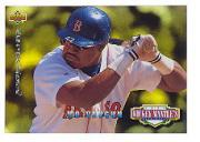 1994 Upper Deck Mantle's Long Shots Electric Diamond #MM19 Mo Vaughn