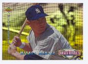 1994 Upper Deck Mantle's Long Shots Electric Diamond #MM21 Mickey Mantle