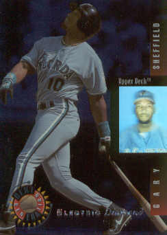 1994 Upper Deck Next Generation Electric Diamond #18 Gary Sheffield