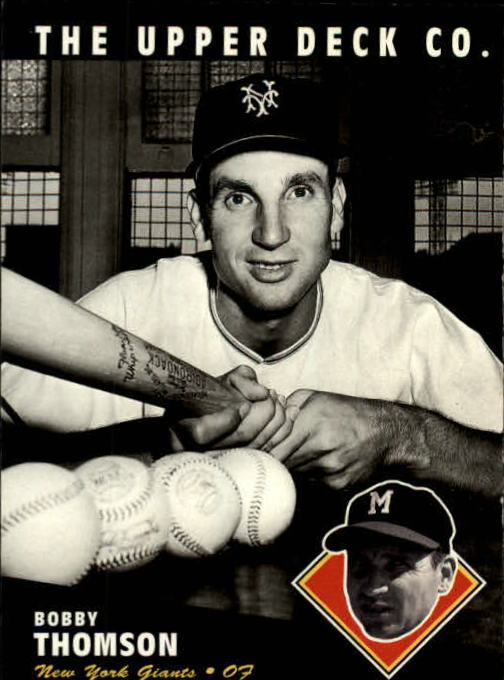 1994 Upper Deck All-Time Heroes #51 Bobby Thomson