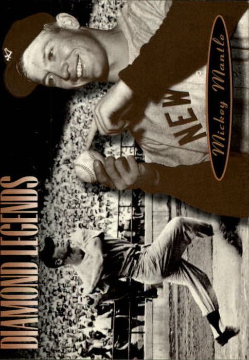 1994 Upper Deck All-Time Heroes #168 Mickey Mantle LGD