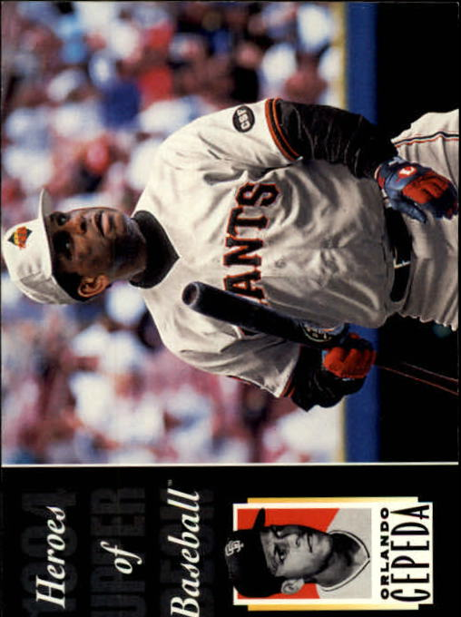 1994 Upper Deck All-Time Heroes #215 Orlando Cepeda HB