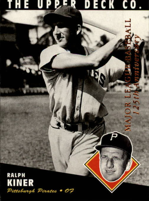 1994 Upper Deck All-Time Heroes 125th Anniversary #49 Ralph Kiner