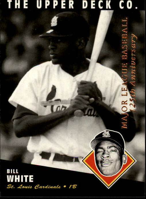 1994 Upper Deck All-Time Heroes 125th Anniversary #65 Bill White