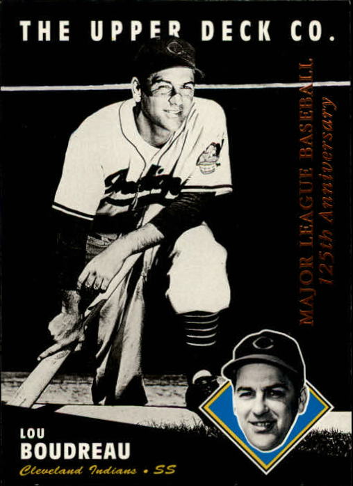 1994 Upper Deck All-Time Heroes 125th Anniversary #204 Lou Boudreau