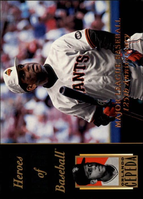 1994 Upper Deck All-Time Heroes 125th Anniversary #215 Orlando Cepeda