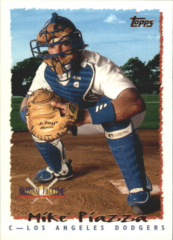 1995 National Packtime #5 Mike Piazza
