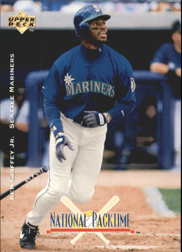 1995 National Packtime #6 Ken Griffey Jr.