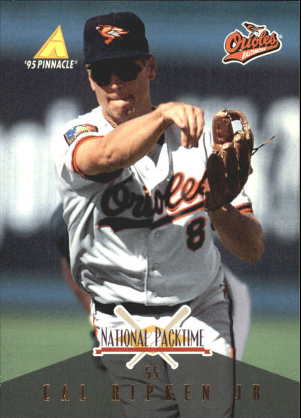 1995 National Packtime #10 Cal Ripken