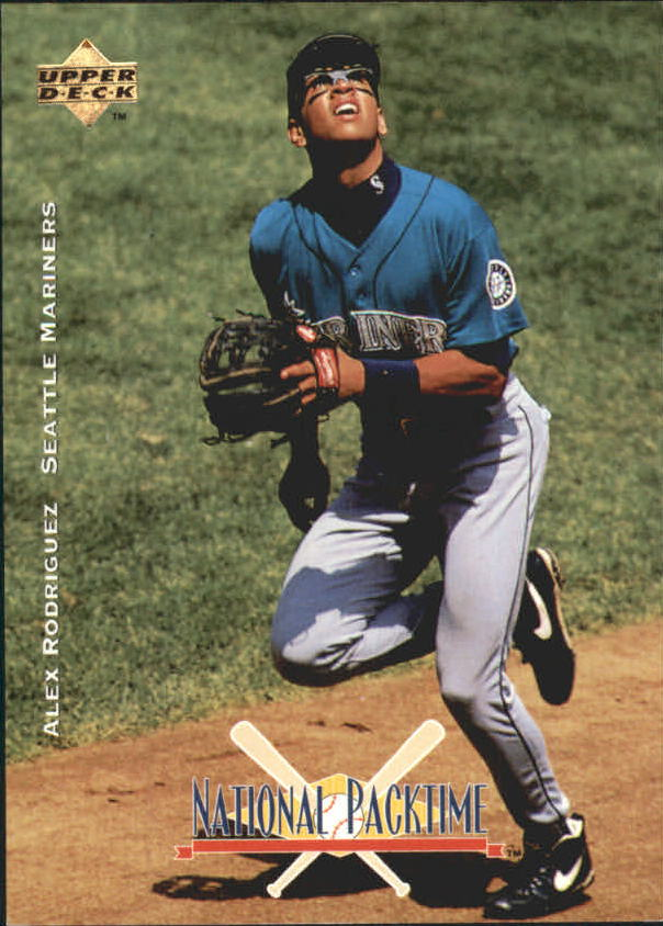 1995 National Packtime #12 Alex Rodriguez