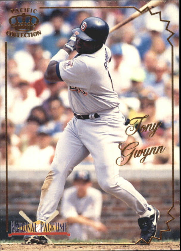 1995 National Packtime #15 Tony Gwynn