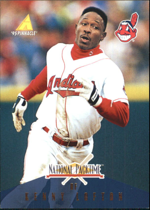 1995 National Packtime #16 Kenny Lofton