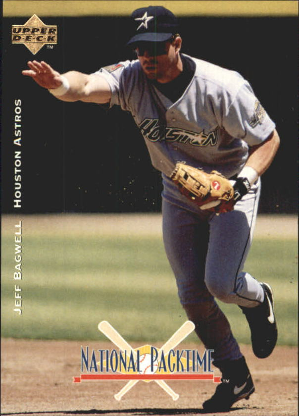 1995 National Packtime #18 Jeff Bagwell