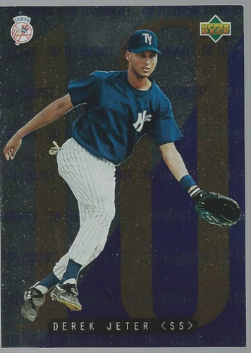 1995 Upper Deck Minors Top 10 Prospects #1 Derek Jeter