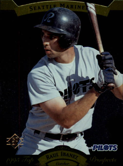1995 SP Top Prospects #150 Raul Ibanez