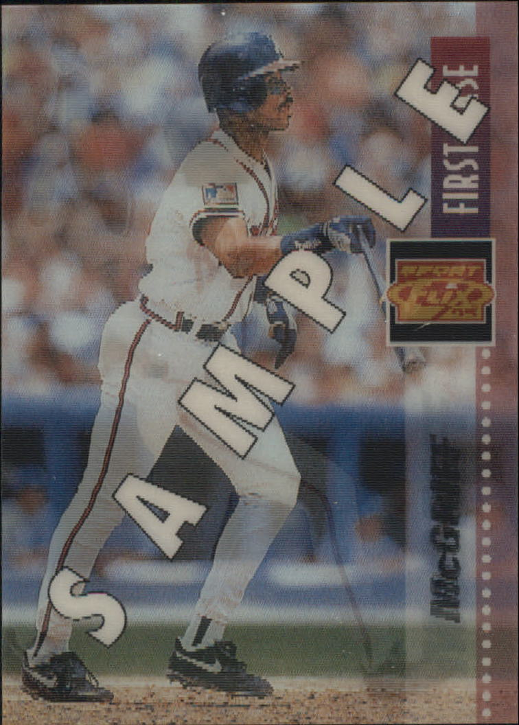 1995 Sportflix Samples #3 Fred McGriff