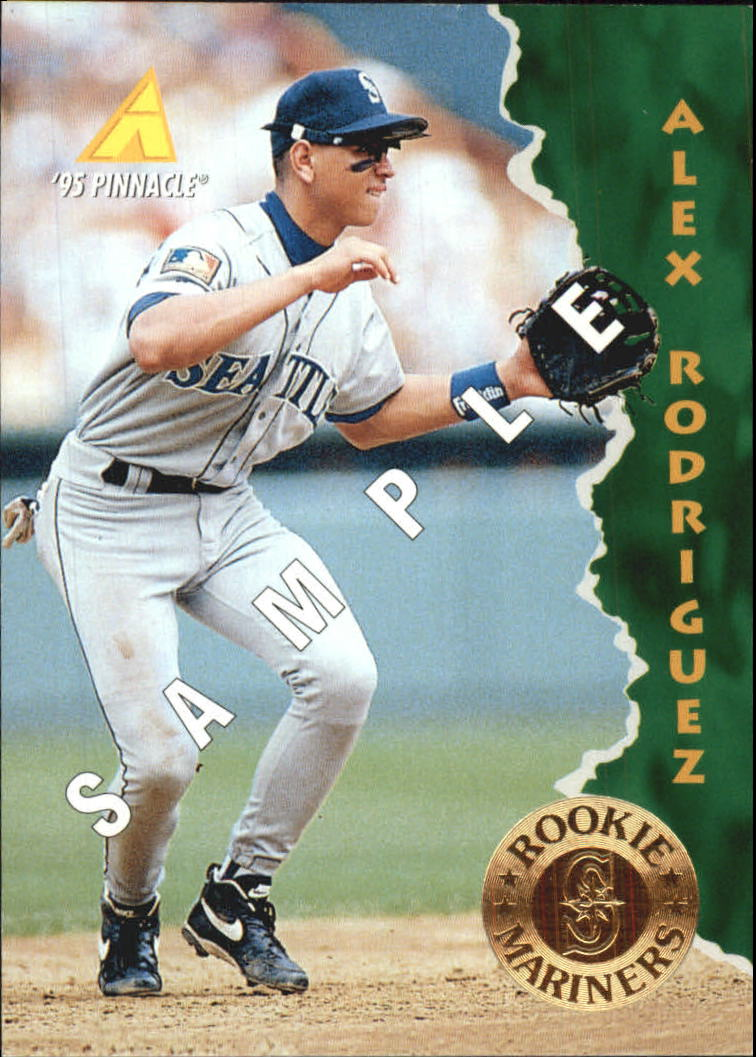 1995 Pinnacle Samples #132 Alex Rodriguez