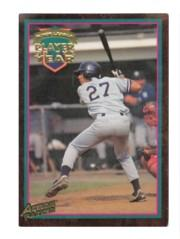 1995 Action Packed #1 Derek Jeter POY