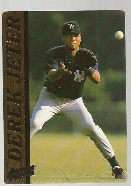 1995 Action Packed #10 Derek Jeter