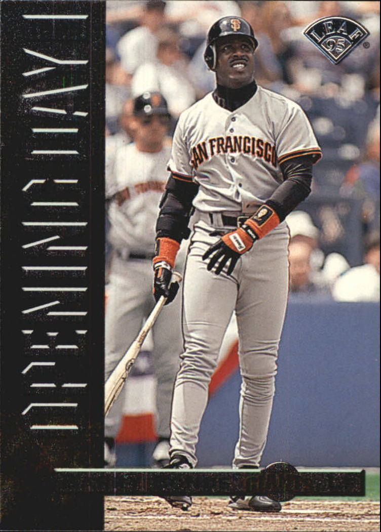 1995 Leaf Opening Day #3 Barry Bonds