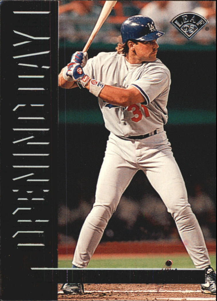 1995 Leaf Opening Day #5 Mike Piazza