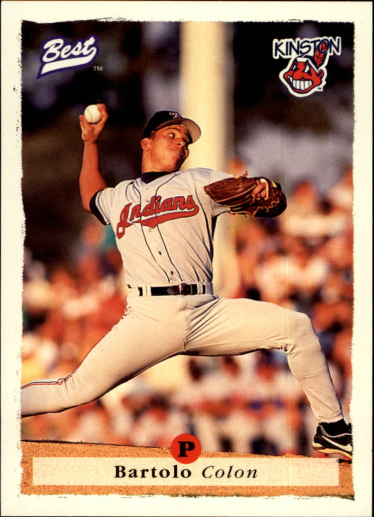 1995 Best #16 Bartolo Colon front image