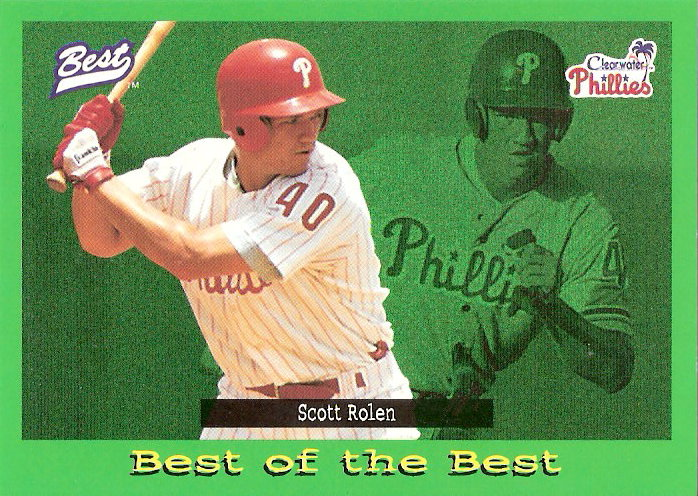 1995 Best #105 Scott Rolen BB SP