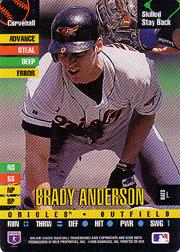 1995 Donruss Top of the Order #1 Brady Anderson C