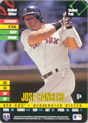 1995 Donruss Top of the Order #18 Jose Canseco U