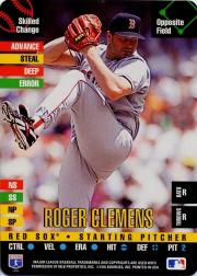 1995 Donruss Top of the Order #19 Roger Clemens C