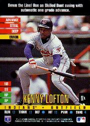 1995 Donruss Top of the Order #59 Kenny Lofton R