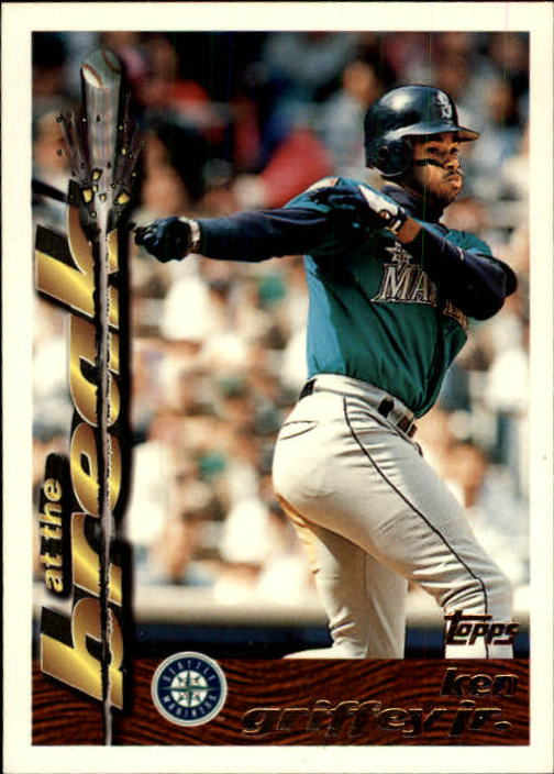 1995 Topps Traded #2T Ken Griffey Jr. AB
