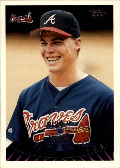 1995 Topps Traded #128T Chipper Jones ROY