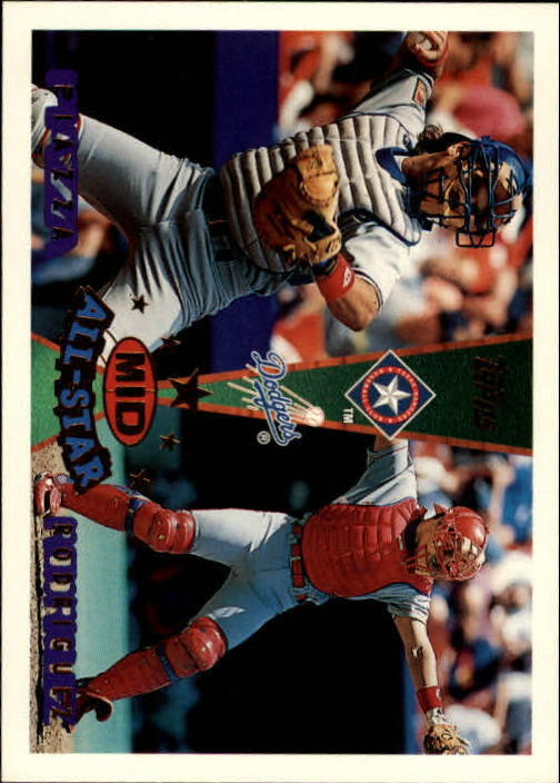 1995 Topps Traded #163T I.Rodriguez/M.Piazza AS