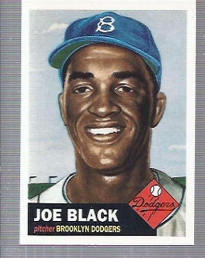 1995 Topps Archives Brooklyn Dodgers #44 Joe Black