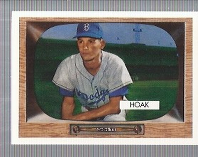 1995 Topps Archives Brooklyn Dodgers #121 Don Hoak